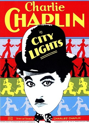 City Lights, starring Charlie Chaplin and Virginia Cherrill