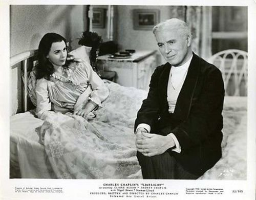 "Claire Bloom and Charlie Chaplin in ""Limelight"""