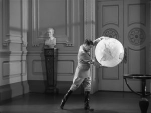 The Great Dictator - Charlie Chaplin as Adenoid Hynkel, famous globe dance