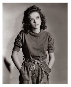 Publicity photo of Ida Lupino in Moontide