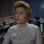 Joan Fontaine in Voyage to the Bottom of the Sea