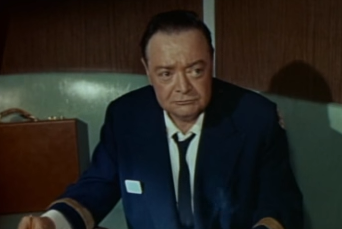 Peter Lorre as the Commodore in Voyage to the Bottom of the Sea
