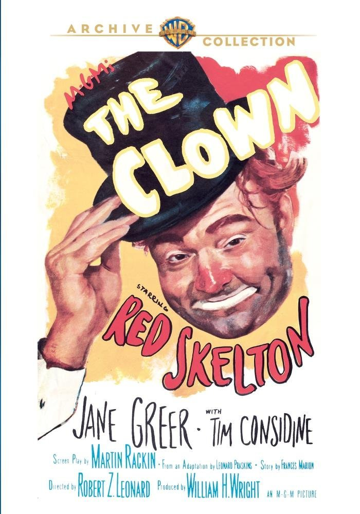 The Clown, starring Red Skelton, Jane Greer, with Tim Considine