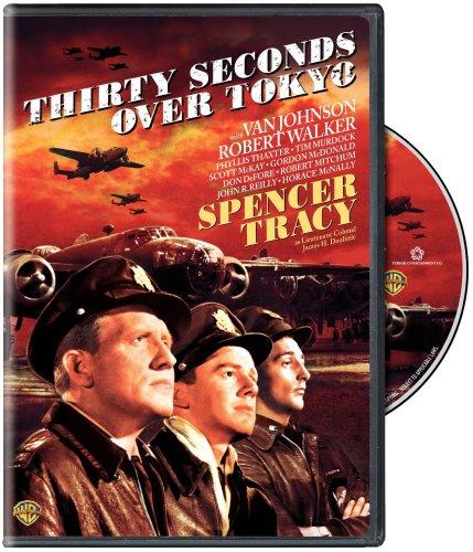 Thirty Seconds over Tokyo DVD case, starring Van Johnson, Phyllis Thaxter, Spencer Tracy