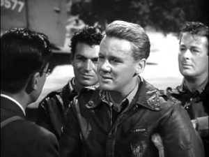 Van Johnson and his flight crew in Thirty Seconds over Tokyo