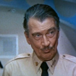 Walter Pidgeon as the Admiral in Voyage to the Bottom of the Sea