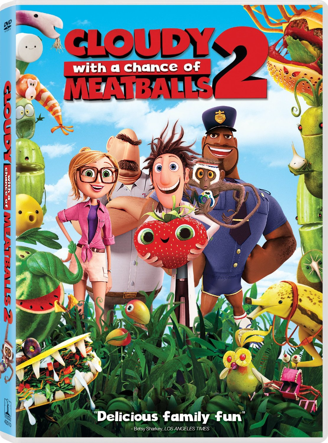 Cloudy with a Chance of Meatballs 2: Revenge of the Leftovers