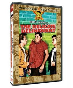 The Delicate Delinquent, starring Jerry Lewis and Darren McGavin