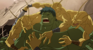 The Hulk is under attack on Planet Hulk