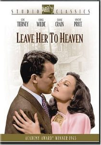 Leave Her to Heaven starring Gene Tierney, Cornel Wilde, Jean Crain, Vincent Price