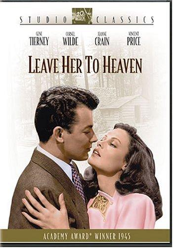 Leave Her to Heaven starring Gene Tierney, Cornel Wilde, Jean Crain, Vincent Price