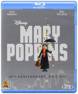 Mary Poppins, starring Julie Andrews, Dick van Dyke, David Tomlinson, Glynis Johns, Ed Wynn