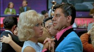 Stella Stevens dances with Jerry Lewis as Buddy Love in The Nutty Professor