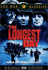 The Longest Day (1962), starring John Wayne, Henry Fonda, Sean Connery and Sir Richard Burton