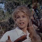 Susan Gale (Barbara Eden) - a teacher at a missionary, and love interest for O'Shay