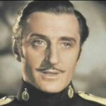 Basil Rathbone in The Mark of Zorro