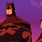 Batman and Damien Wayne, the new Robin