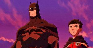 Batman and Damien Wayne, the new Robin