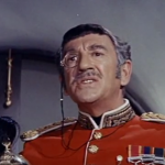 General Sir Henry Vining (Richard Haydn) - retired military man, who prevents the funding of the professor's journey