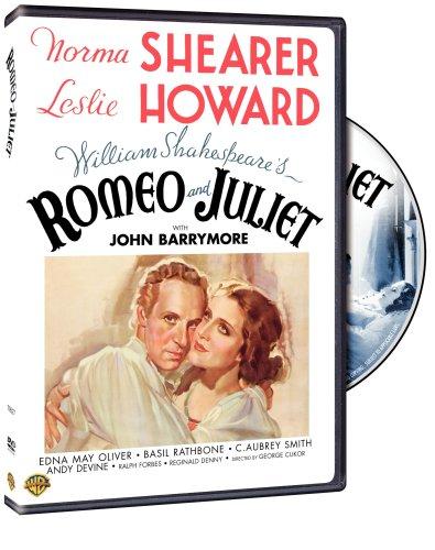 Romeo and Juliet, starring Norma Shearer, Leslie Howard, Basil Rathbone, Edna May Oliver, John Barrymore