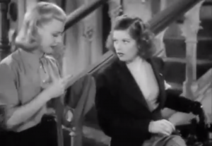 Stage Door - Ginger Rogers, Lucille Ball at their snarky best