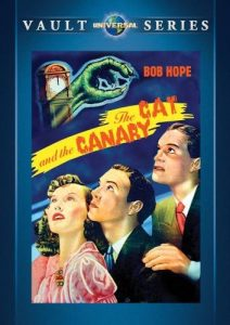 The Cat and the Canary, starring Bob Hope, Paulette Goddard