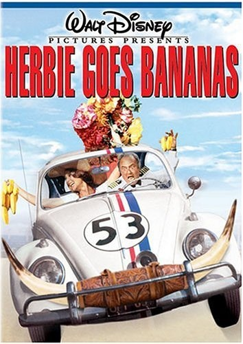Herbie Goes Bananas (1980) starring Stephen W. Burns, Charles Martin Smith, Cloris Leachman, Harvey Korman
