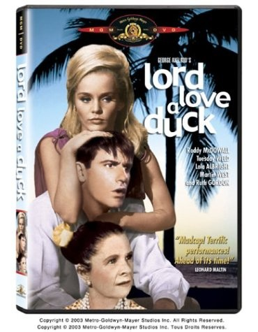 Lord Love a Duck (1966) starring Roddy McDowall, Tuesday Weld, Ruth Gordon, Harvey Korman