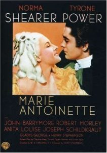Marie Antoinette (1938) starring Norma Shearer, Tyrone Power, John Barrymore, Robert Morley