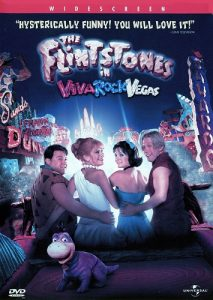 The Flintstones in Viva Rock Vegas (2000) starring Mark Addy, Kirsten Johnston, Joan Collins, Thomas Gibson, Jane Krakowski, Stephen Baldwin