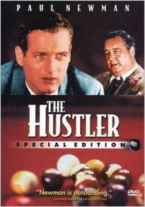 The Hustler, starring Paul Newman, Jackie Gleason, Piper Laurie, George C. Scott