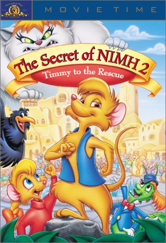 The Secret of NIMH 2 – Timmy to the Rescue (1998) starring Ralph Macchio, Dom De Luise, Harvey Korman, Eric Idle