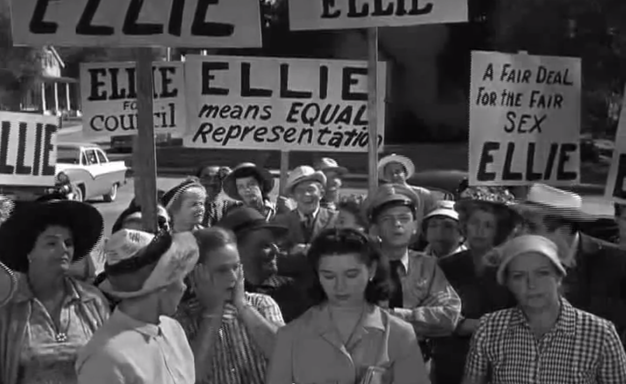 Ellie for Council - The Andy Griffith Show