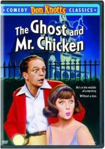 The Ghost and Mr. Chicken, starring Don Knotts, Joan Staley - comedy classics - he's in the middle of a mystery. without a clue