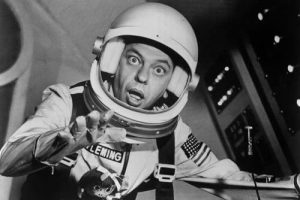 """Don Knotts in a spacesuit, in orbit, and in over his head as """"The Reluctant Astronaut"""""""