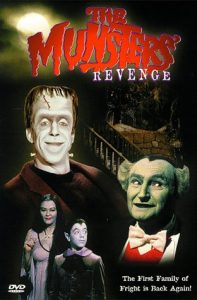 The Munsters Revenge (1981) starring Fred Gwynne, Yvonne DeCarlo, Al Lewis, Sid Caesar