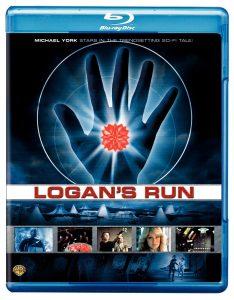 Logan's Run (1976) starring Michael York, Jenny Agutter, Richard Jordan, Peter Ustinov