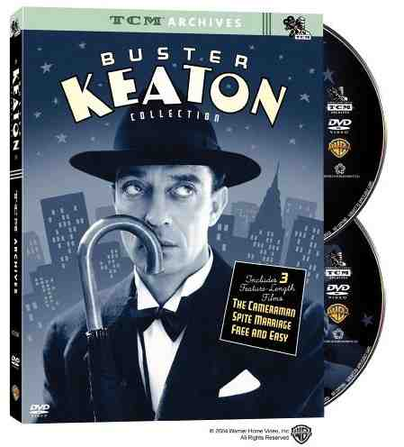 The Buster Keaton CollectionThe Buster Keaton Collection presents three of the first films (one, The Cameraman, a near masterpiece) Keaton made for MGM beginning in 1928, an arrangement that gradually ushered the great comic actor and director into the sound era but ultimately deprived him of creative control. The Cameraman, considered by many to be Keaton's last important silent work, is an unusual story about a tintype portrait photographer (Keaton) who becomes a newsreel cameraman in order to win the heart of a secretary (Marceline Day). After flubbing an assignment by double-exposing some action footage, the hapless hero tries to prove himself in several memorable sequences of Keatonesque knockabout comedy (including a Chinatown street battle). There are also a couple of grace notes, such as a scene set in Yankee Stadium in which a solo Keaton exquisitely mimes the moves and attitudes of a pitcher. But The Cameraman's strange, almost subconscious power is in its variation on an old Keaton refrain: The hero's conflict over different kinds of authenticity, represented here on either side of a motion picture lens–the difference between capturing something real and living it. The Cameraman shows obvious and unfortunate signs of MGM's insistence that Keaton, long accustomed to improvising scenes, conform to prepared shooting scripts. But it is less stifling than the second feature (Keaton's last silent movie) in this set, the 1929 Spite Marriage, a slight farce about a pants-presser (Keaton) who borrows his customers' fine threads to attend the theatre every night. There he worships an actress (Dorothy Sebastian) so furious with her caddish lover and co-star (Edward Earle) that she asks Keaton to marry her. The predictable results are unworthy of a Keaton film, but he does shine in several hilarious sequences, such as a disastrous turn as a bit player in his soon-to-be-wife's stage dramas. Finally, 1930's Free and Easy, Keaton's talkie debut, is a garish MGM valentin