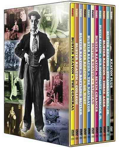 The Art of Buster Keaton, an 11-disk set by Kino