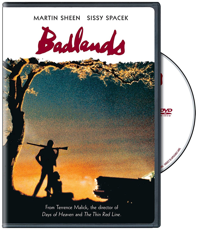 Badlands (1973) starring Martin Sheen, Sissy Spacek