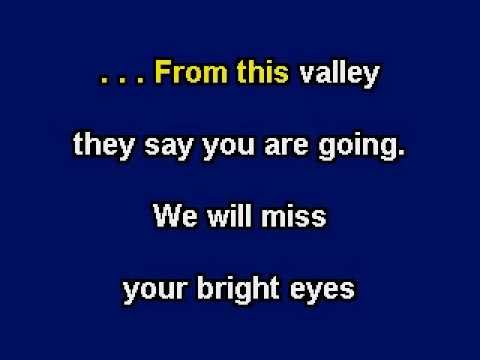 Red River Valley lyrics - a folk song and cowboy music standard