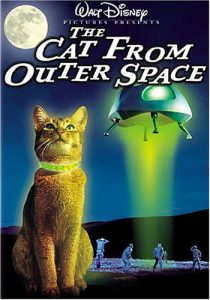 The Cat from Outer Space starring Ken Berry, Sandy Duncan, McLean Stevenson, Harry Morgan, Roddy McDowall, Jesse White, Hans Conried
