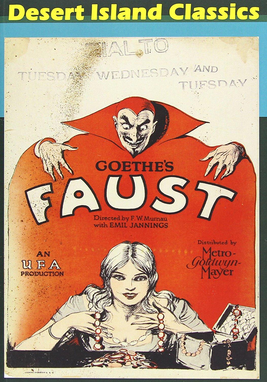 Faust, starring Gösta Ekman, Emil Jannings, F.W. Murnau (Director)