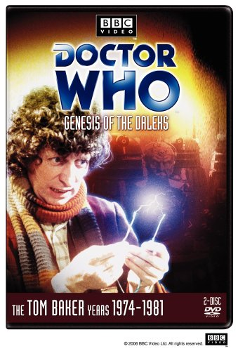 Doctor Who: Genesis of the Daleks, starring Tom Baker, Elisabeth Sladen, Ian Marter