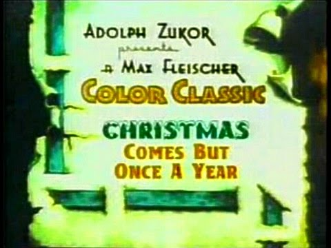 (Isn't it a shame that) Christmas comes but once a year - song lyrics, as performed in The Great Rupert