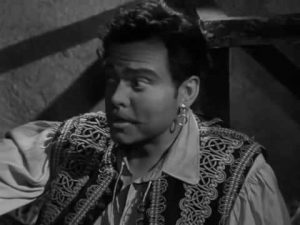 Orson Welles as the gypsy Joseph Balsamo, aka. Count Cagliostro