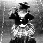 Rupert the dancing squirrel