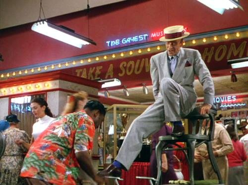 Fred Astaire performing A Shine on your Shoes in The Band Wagon
