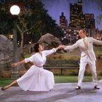 Cyd Charisse dancing with Fred Astaire in The Band Wagon