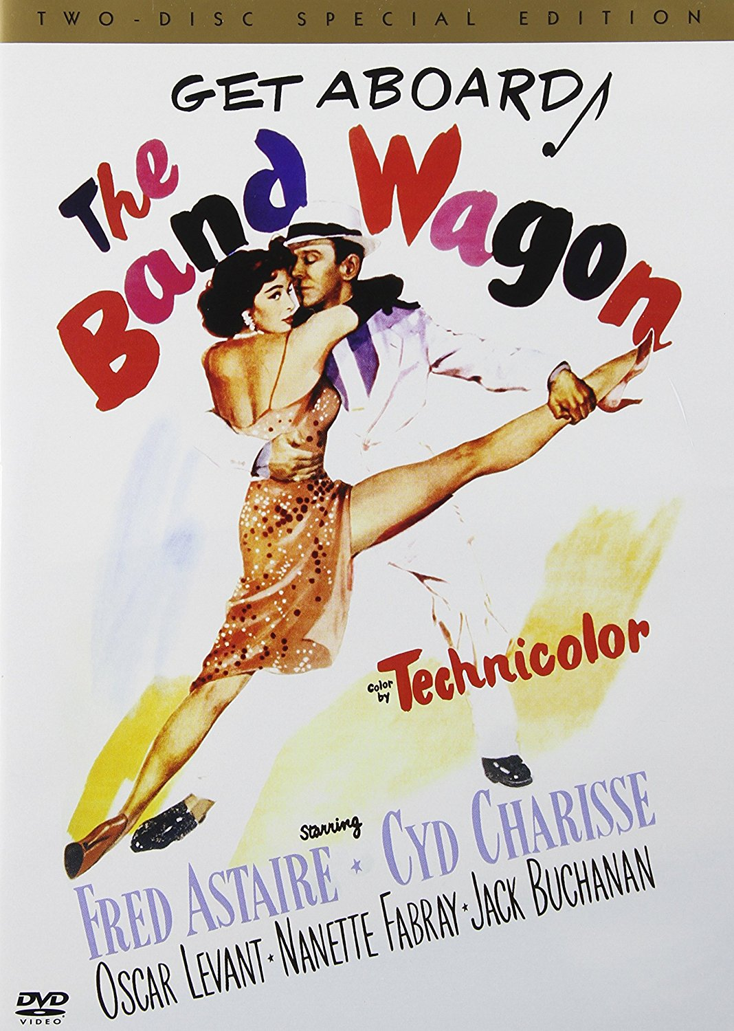 The Band Wagon (1953) Fred Astaire, Cyd Charisse, Nanette Fabray, Oscar Levant, Jack Buchanan